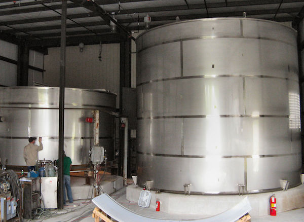 field fabricated storage tanks